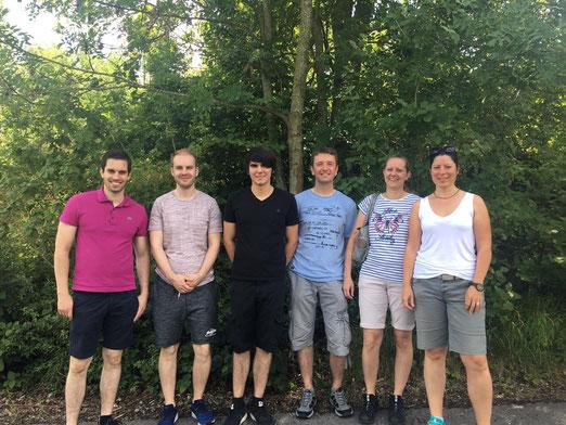 Die Teams vom KKSV Buchholz und SV Nordstetten