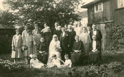 Hochzeit 20er Jahre