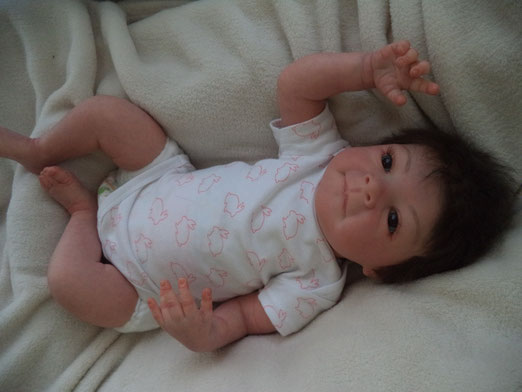 REBORN DOLL ESTELLE by Evelina Wusnjuk