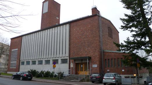 Die katholische Kirche St. Marien in Helsinki