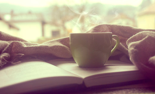 Morgen Kaffee Cafe Coffee Buch Morgenroutine