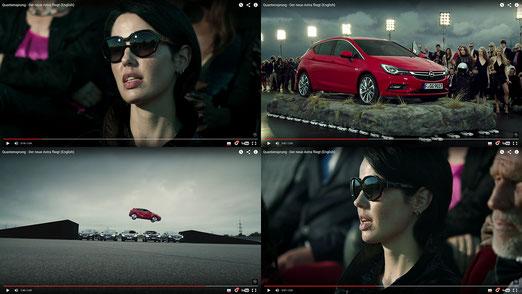 """Screenshots des """"New Astra"""" Werbespots"""