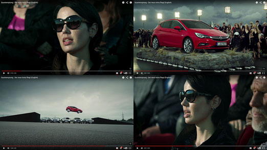 Ravienne Art Model - Screenshots, Komparsin, Opel, Astra, Werbung