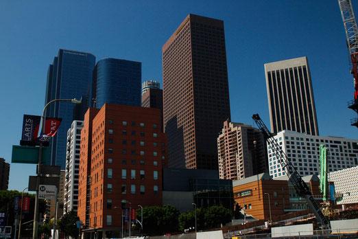 Downtown Los Angeles, Busse und Bahnen, U-Bahn Los Angeles