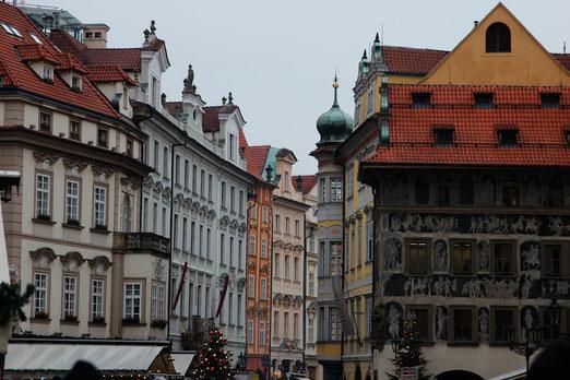 Altstädter Ring Prag, Architektur in Prag, Pragreise