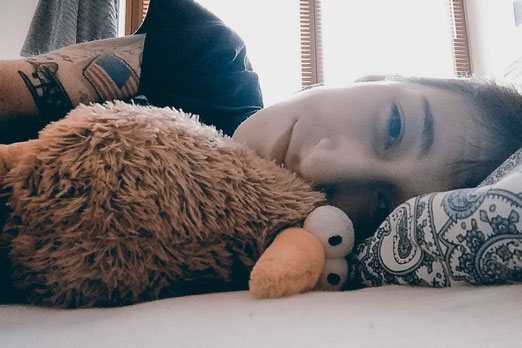 Colitis Ulcerosa, Schlaflosigkeit, Symptome, chronisch krank, Darmentzündung