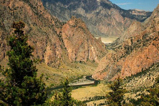 Clarks Fork Canyon, Wyoming, hiking Wyoming