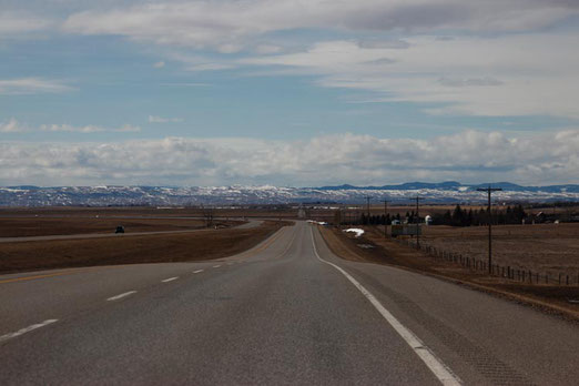 Reise Kanada, Straßen Kanada, Alberta