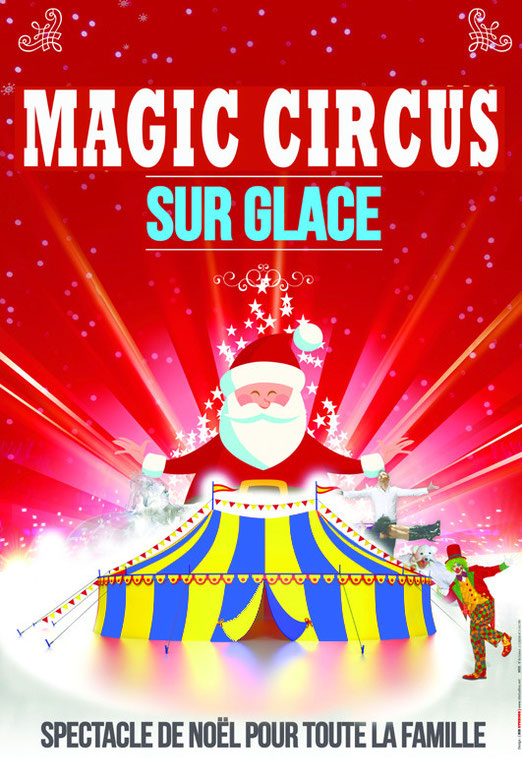 magic circus on ice à la patinoire d'asnieres