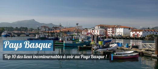 TOP 10 des lieux incontournables à voir au Pays Basque - Crédit Photo : Trip85.com