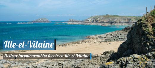 TOP 10 des lieux incontournables à voir en Ille-et-Vilaine - Crédit Photo : Trip85