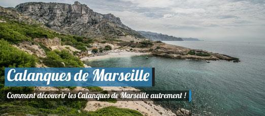 Découvrir les Calanques de Marseille autrement !