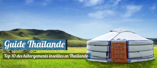 Top 10 des hébergements insolites en Thaïlande ! - Source : Photodune