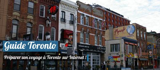 Préparer son voyage à Toronto sur Internet