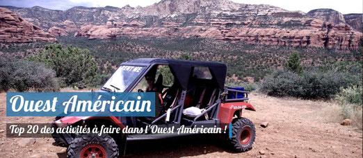 TOP 20 des activités incontournables à faire dans l'Ouets Américain !