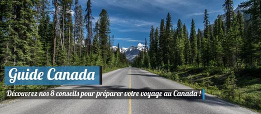 faire un voyage au canada