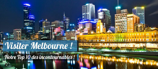 Visiter Melbourne - Crédit Photo : Melbourne Australia by night / Hai Linh Truong - Source : Flickr.com