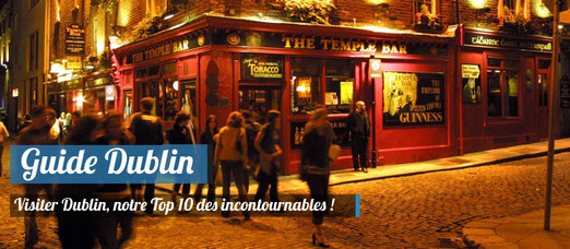 Guide Dublin, Les incontournables - Photo : Ireland Tourism - Temple Bar
