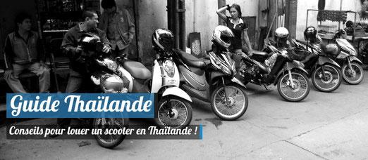 Conseils pour louer un scooter en Thaïlande - Crédit Photo : Trip85.com