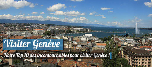 Visiter Genève / Cérdit Photo : Flickr - Christian Bortes - (CC BY 2.0)