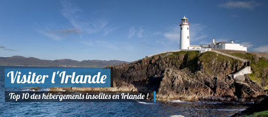 TOP 10 des hébèrgements insolites en Irlande ! - Fanad Head Lighthouse, County Donegal - Tourism Ireland - Gardiner Mitchell