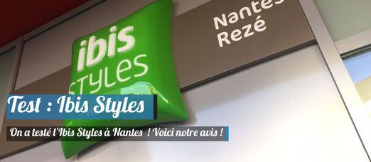 Test du Ibis Styles !