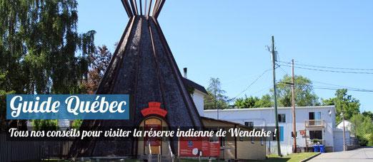 Visiter la réserve indienne de Wendake ! Source : Wikimedia - Auteur : Malimage
