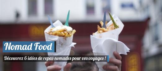 6 idées de repas nomades pour vos voyages ! Crédit Photo : Photodune
