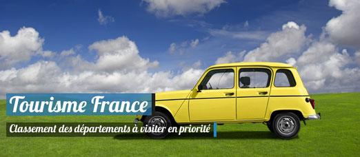 Classement des départements français à visiter en Priorité ! - Crédit Photo - Photodune - erikreis YellowFunnyCar