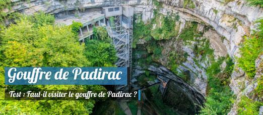On a visité le Gouffre de Padirac !