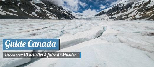 Que faire à Whistler en hiver?