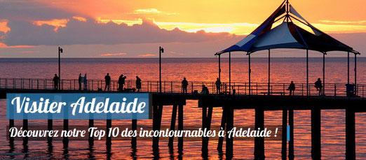 Visiter Adelaide - Source : FlickR.com - Auteur : Les Haines -  (CC BY 2.0)