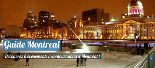 8 évènements incontournables à Montréal !