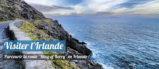 parcourir la route ring of kerry en irlande