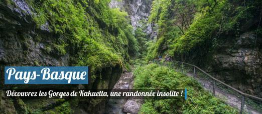 On a testé les gorges de Kakuetta au Pays-Basque !