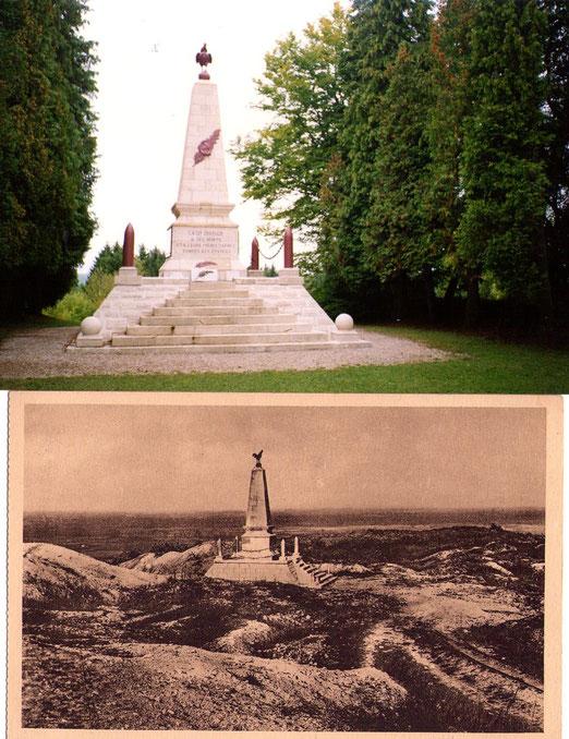 Maurice GENEVOIX, Sous-Lieutenant au 106ème R.I. écrit à sa famille le 22 mars 1915 lors de la bataille des Éparges, a lire dans la page ils se sont souvenus,
