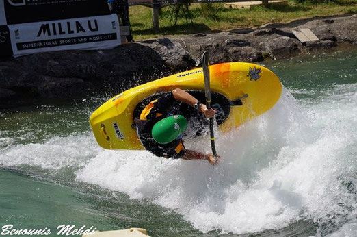 Kayak freestyle Thomas RICHARD