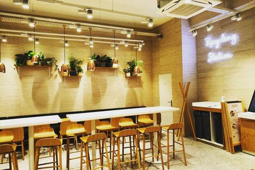 Contrat d'entretien des plantes de ce restaurant