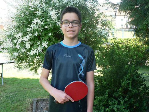 David Schäfer siegte bei den Kreisranglistenspielen Westsaar
