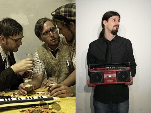Mathi Lerbs, Martin Lerbs und Lerbs Lerbs sowie Micha El Goehre