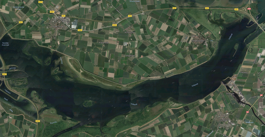 Map of Volkerak - Spin fishing in Holland, Netherlands