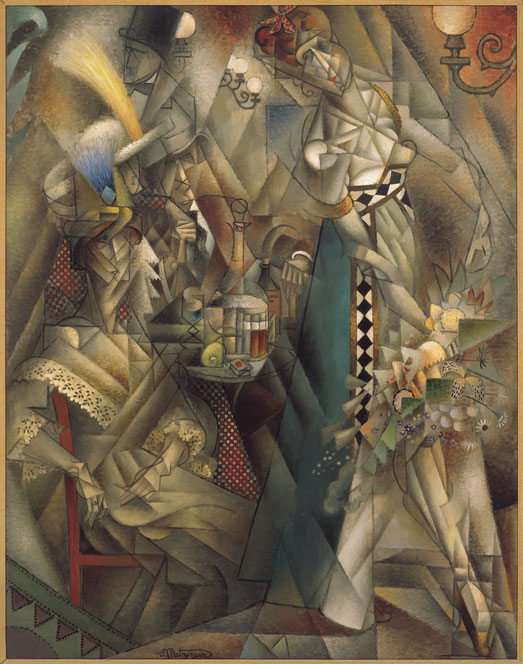 ジャン・メッツァンジェ「カフェのダンサー」(1912年)