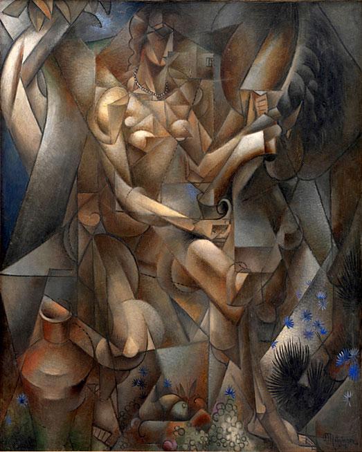 ジャン・メッツァンジェ「馬と女性」(1911-1912年)