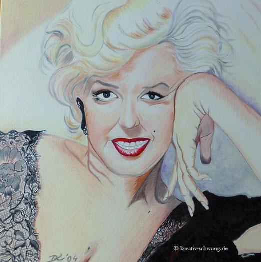 Marilyn Monroe, Ölbild 2004