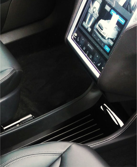 Tesla S Mittelconsole