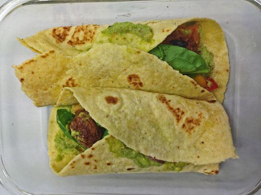 Les wraps, une bonne alternative aux sandwichs