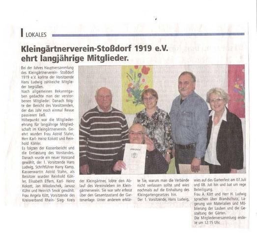 Stadtecho Hennef 18.05.2012