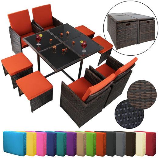 polyrattan tavolo sedie +arredo giardino +outdoor +rattan +vimini +sandroshop
