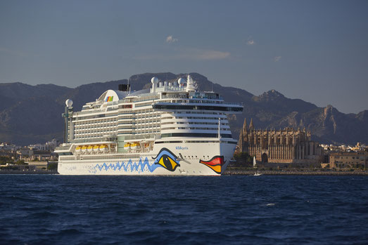 AIDA Cruises startet im Juli ab Palma de Mallorca