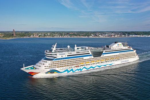 AIDAluna zweites Kreuzfahrtschiff ab Kiel